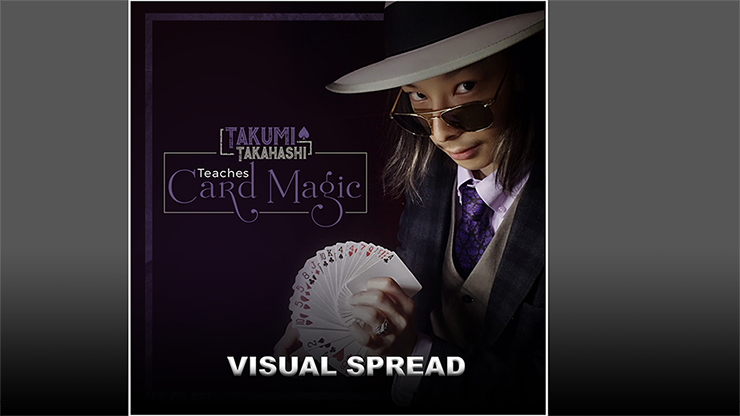 Takumi Takahashi Teaches Card Magic - Visual Spread video DOWNLOAD