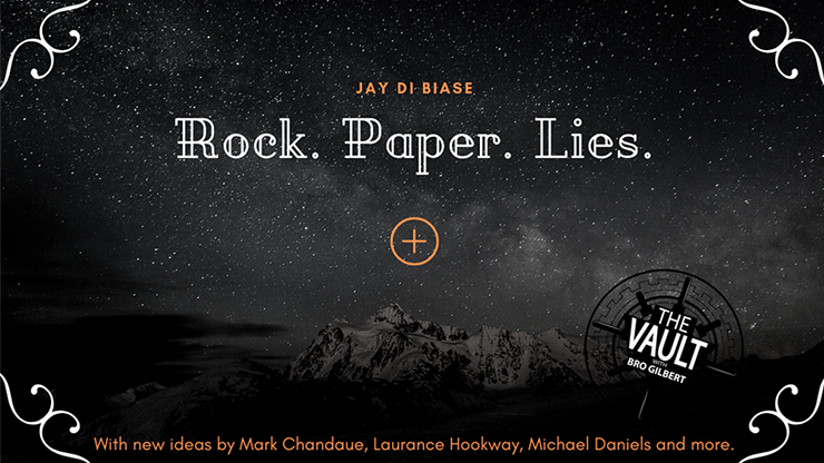 The Vault - Rock Paper Lies Plus by Jay Di Biase video DOWNLOAD
