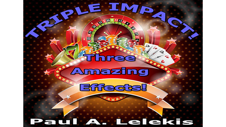 TRIPLE IMPACT! by Paul A. Lelekis Mixed Media DOWNLOAD