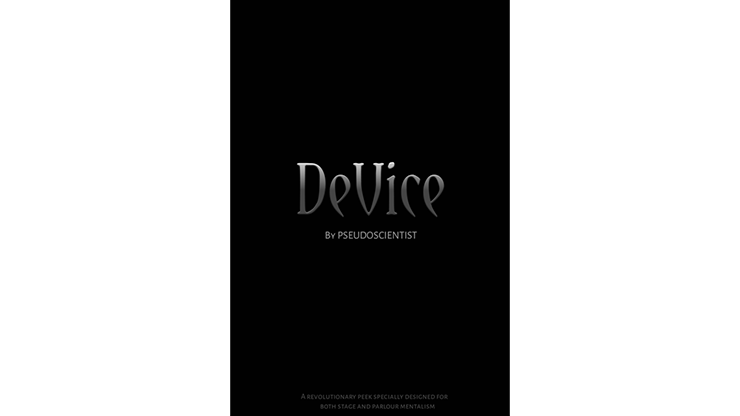 DeVice by Pseudoscientist eBook DOWNLOAD