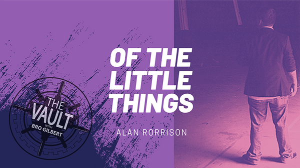 The Vault - Of the Little Things Vol. 1 by Alan Rorrison video DOWNLOAD