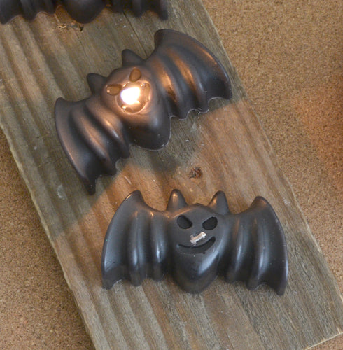 Bat Candles Pack of 4