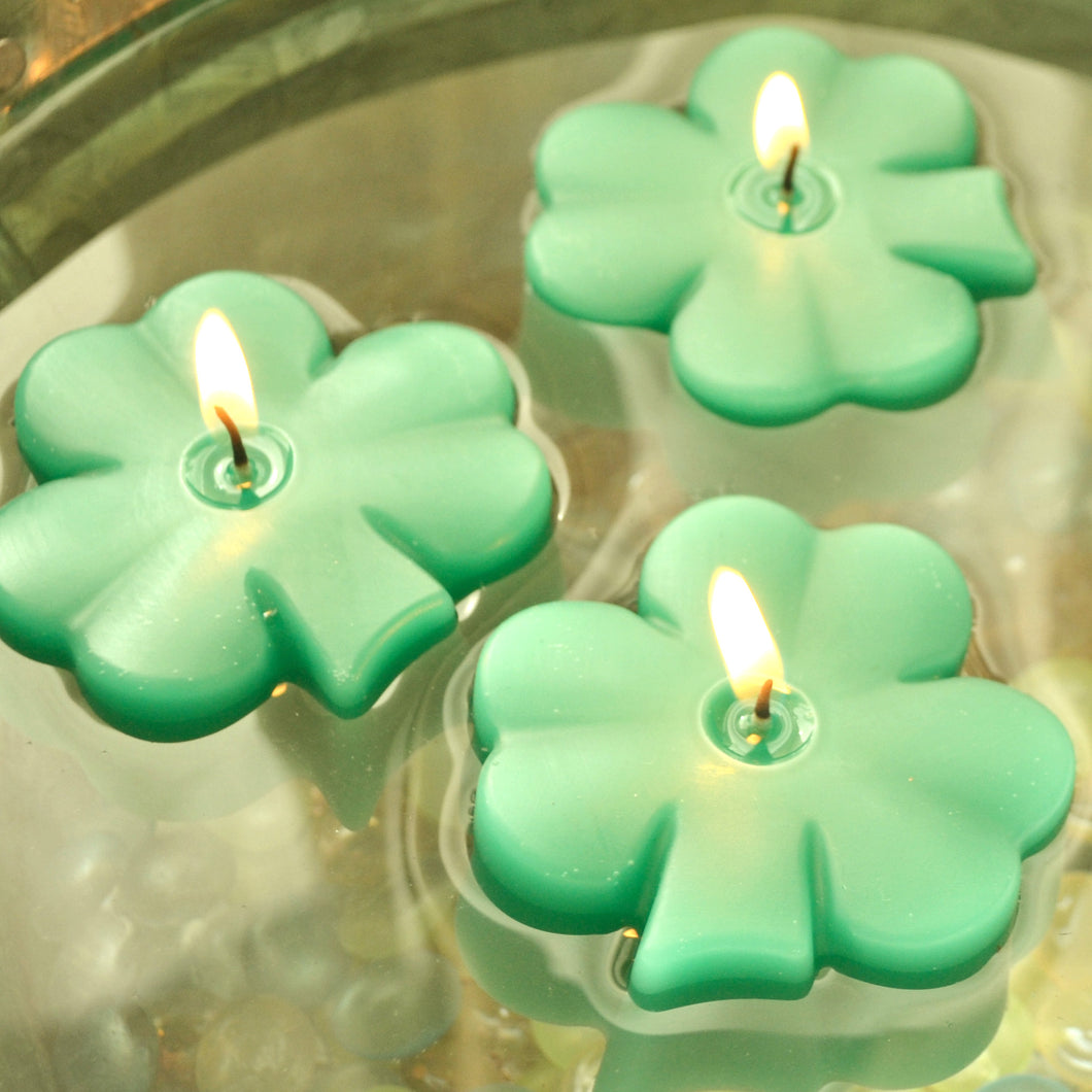 Shamrock Floating Candles