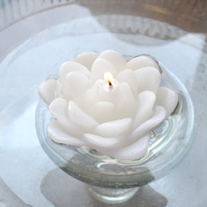 Floating Lotus Candles