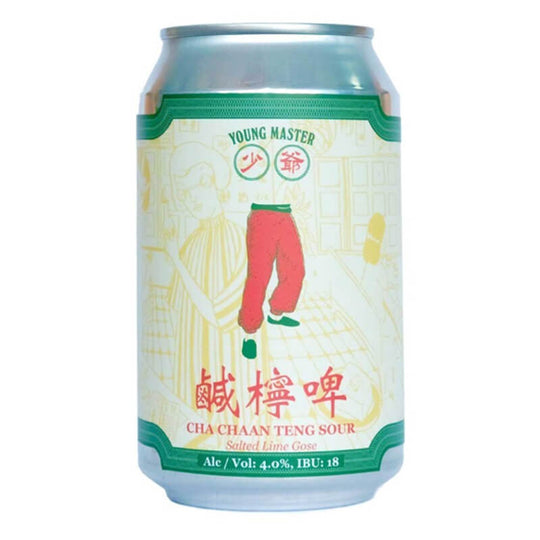 Young Master Brewery 少爺啤 Cha Chaan Teng Sour Beer鹹檸啤 330毫升
