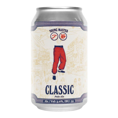 Young Master Brewery 少爺啤 Classic Pale Ale經典淡愛爾啤酒 330毫升