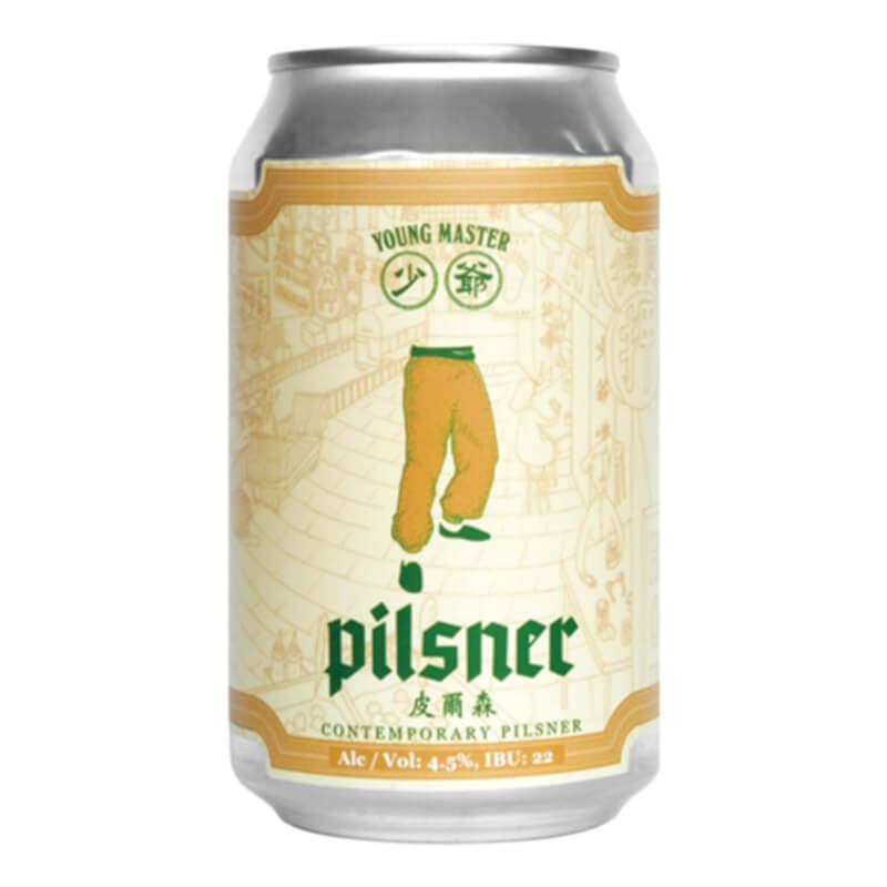 Young Master Brewery 少爺啤 Contemporary Pilsner皮爾森拉格啤酒 330毫升