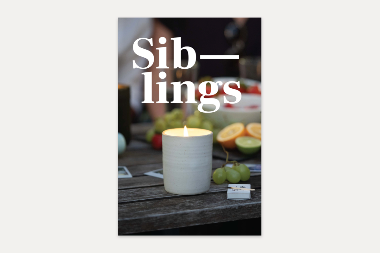 Siblings Booklet