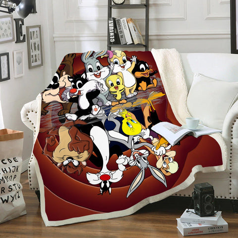 Image of Past And Now 3D Fleece Blanket