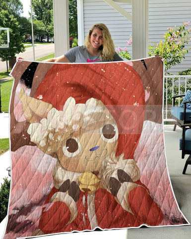 Image of Christmas Chop Cute Pink OP Quilt