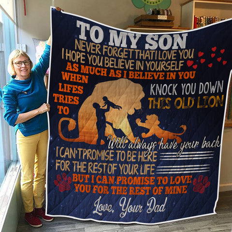 TO MY SON 3D QUILT