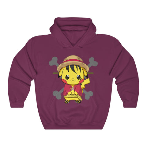 Image of Luffy Pikachu Cool One Piece