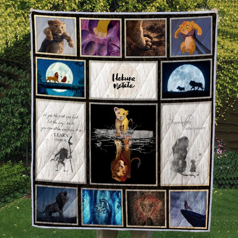 LION REMEMBER 3D QUILT