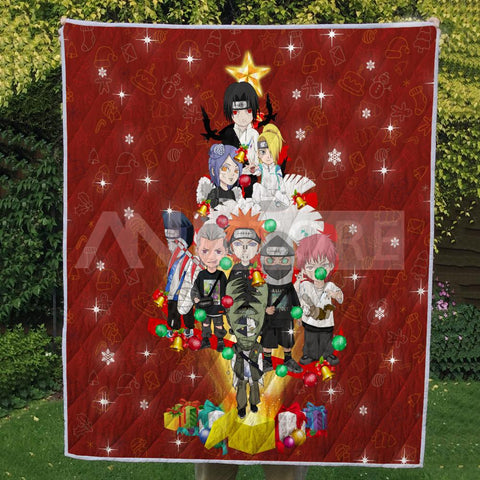 Image of Christmas Chibi Villain Nar Quilt
