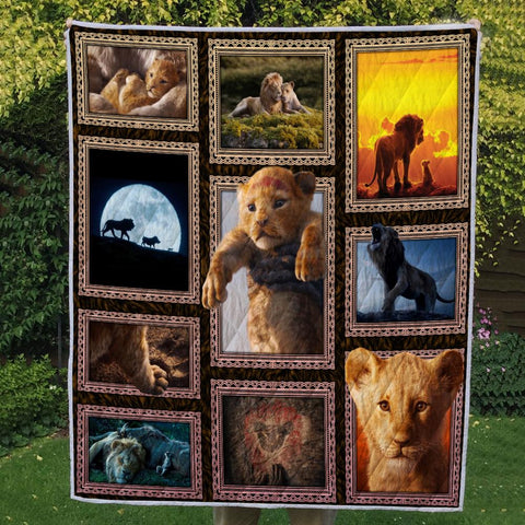 Image of LION 3D QUILT