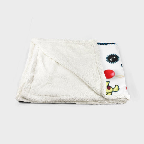 Christmas Studio Ghibli 2 Fleece Blanket