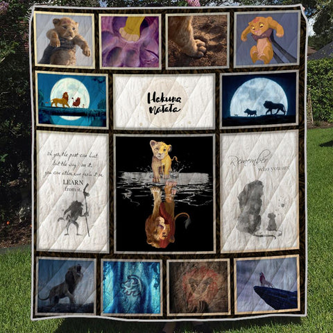 Image of LION REMEMBER 3D QUILT