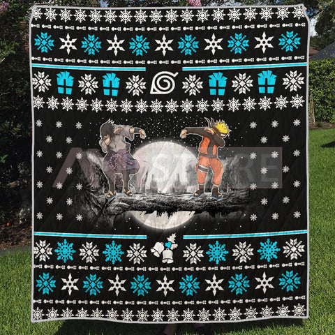 Christmas Sasue Nar Ugly Quilt