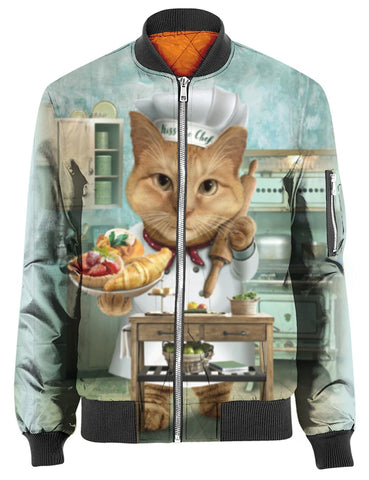 THE CAT CHEF 3D Tee