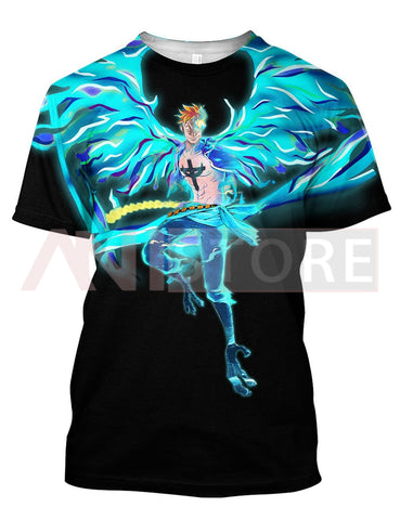 Image of Fire Marco Phoenix Reborn One Piece 3D Tee