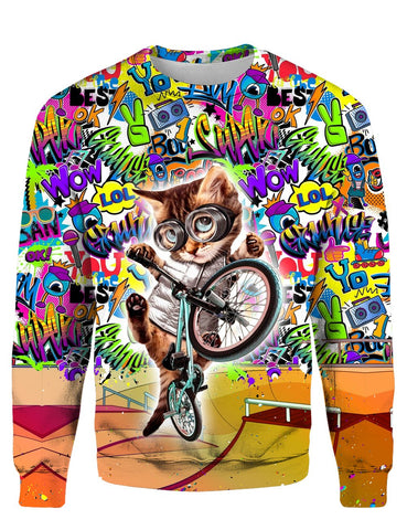 THE CAT CYCLE 3D Tee