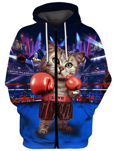 THE BOXING CAT 3D Tee