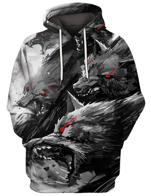 Wolf Pack 3D Tee