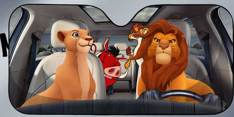 Image of LION 3D AUTO SUN SHADE