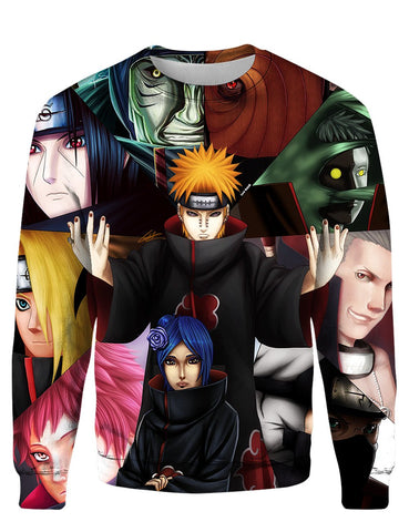 Image of Akatsuki Cool Nar 3D Tee