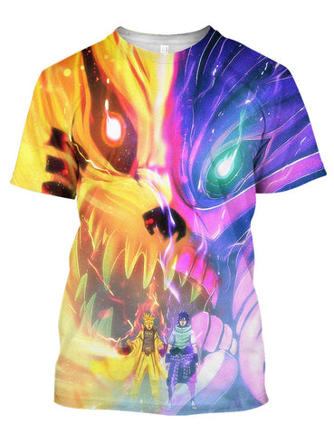 Image of Two Superhero Nar 3D Tee
