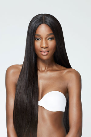 Straight Lady Lace Front Wigs