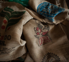 Coffee Burlap Sack