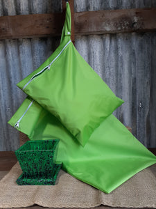 Wet Bag Large Lime Green