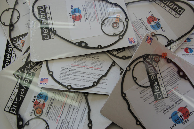 NEW REUSABLE PRIMARY GASKET KIT FOR 650 & 750 TRIUMPH TWINS!