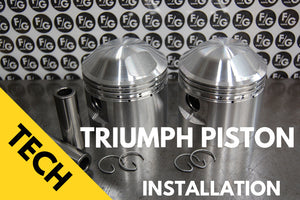 Triumph 650 Piston installation Notes