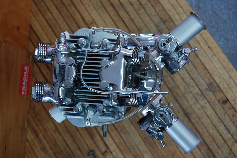 Dual carb preunit 6T engine
