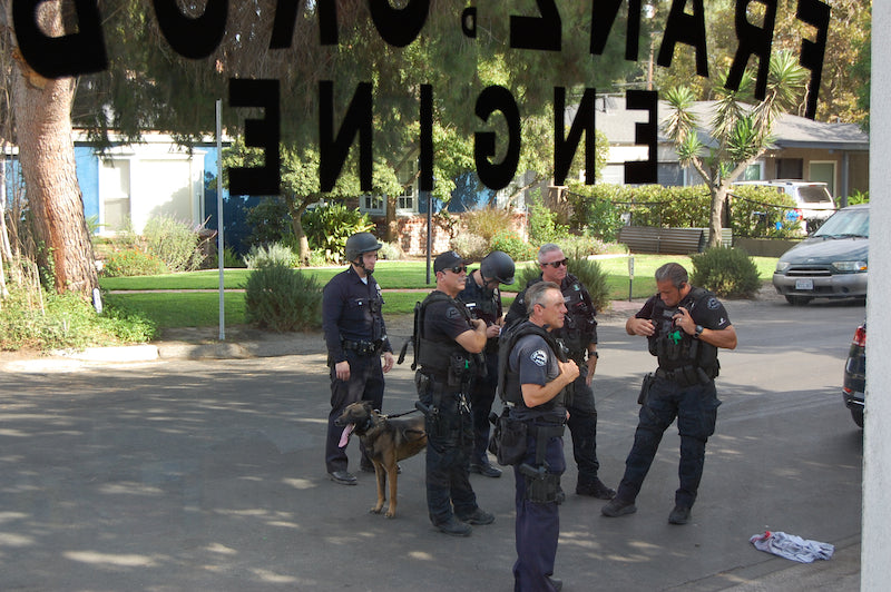 LAPD police dog