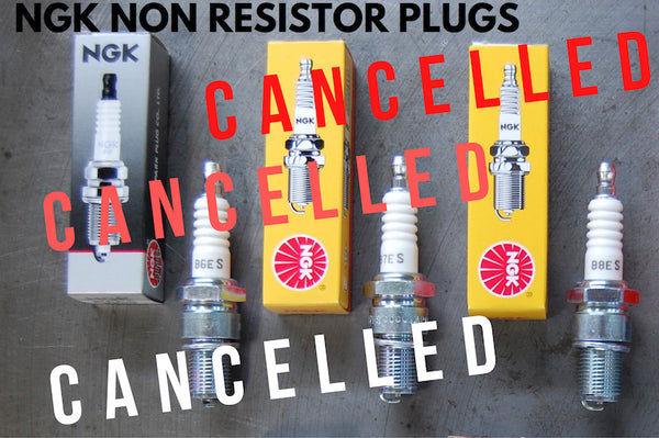 NGK Spark Plugs cancelled