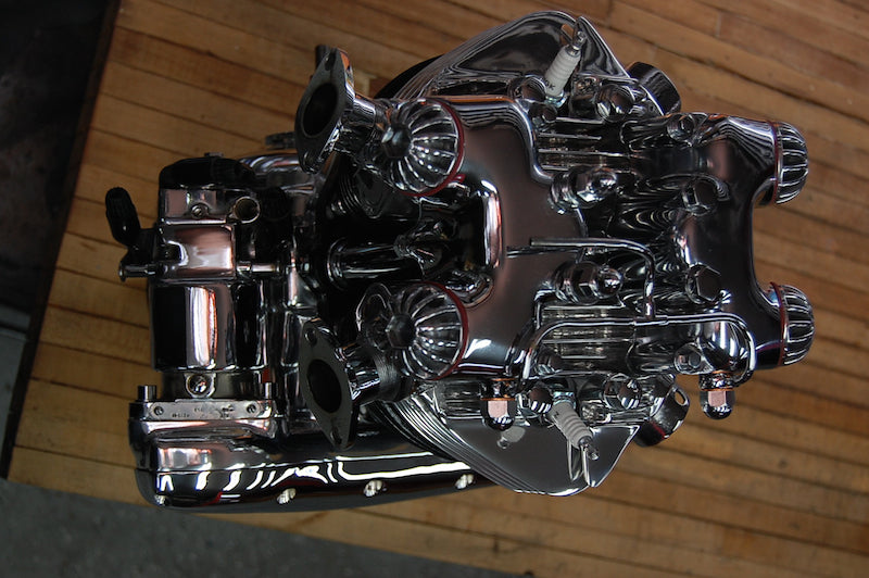 1959 Triumph Bonneville show engine