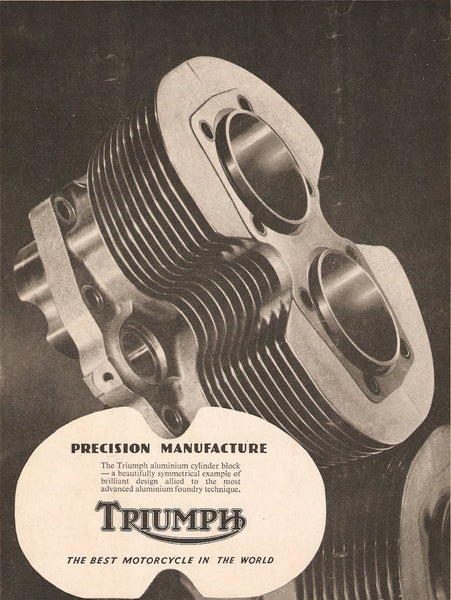 Close fin 500 Triumph cylinder ad