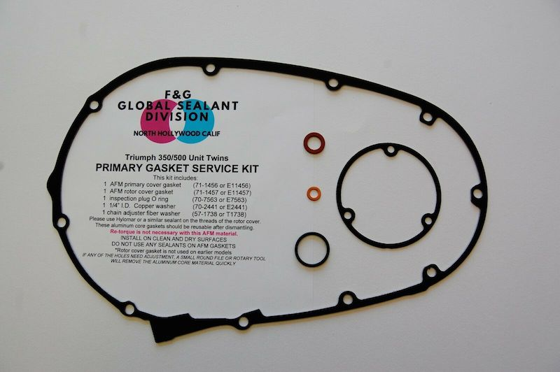 REUSABLE Triumph primary gasket kit for Unit 500