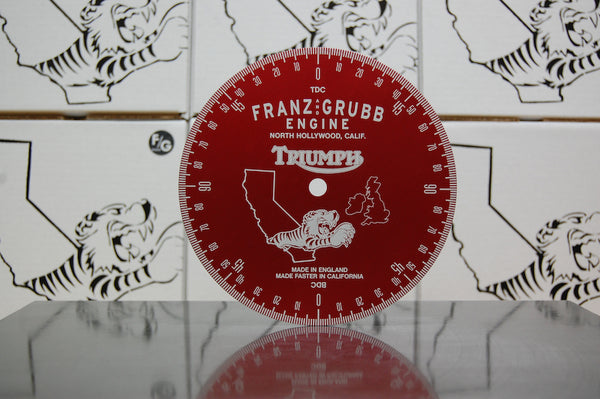 Franz and Grubb Triumph degree wheel