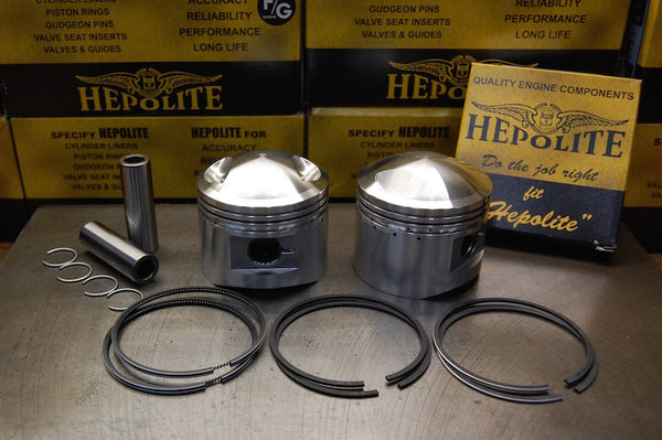 Triumph T140 TR7 Hepolite piston set