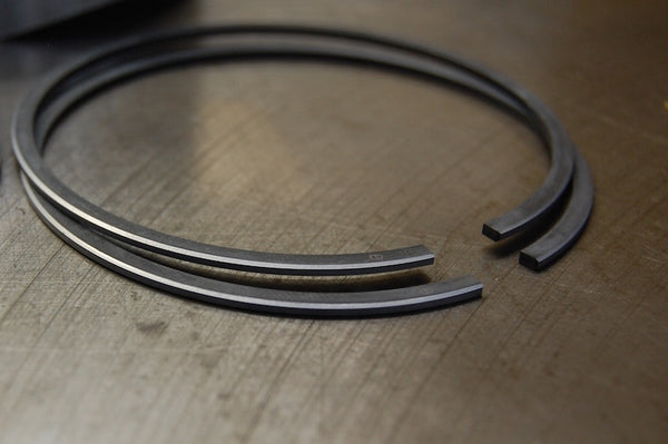 Hepolite T140 Triumph piston rings PVD chromed
