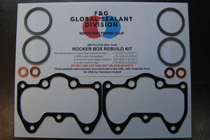 Pre Unit 650 rocker box rebuild kit alloy head