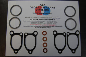 Triumph Pre Unit rocker box rebuild kit 500 650
