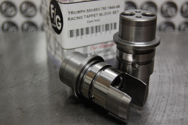 Triumph Racing tappet blocks