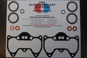 Triumph Unit 650 1963-1970 rocker box rebuild kit