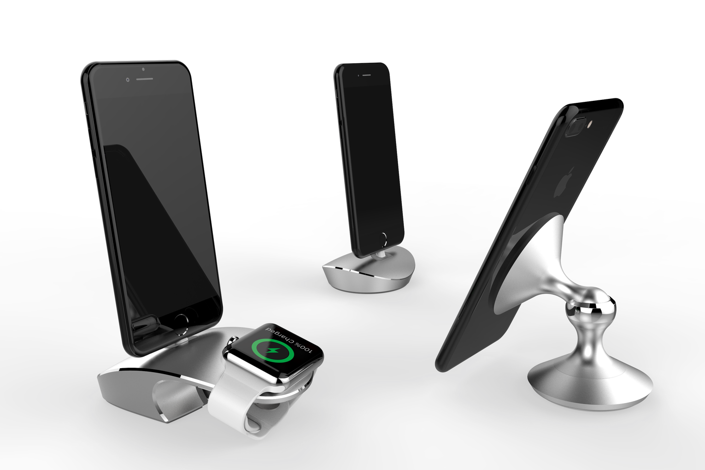 eleMount | iPhone +  Watch Dock | iPhone Dock