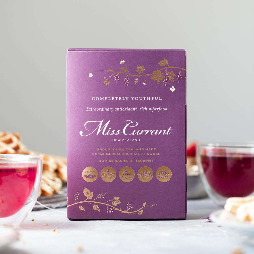 Miss Currant Blackcurrant Powder (100% Natural Antioxidant-Rich Whole Fruit Powder)